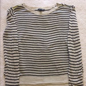 AE stripe sweater